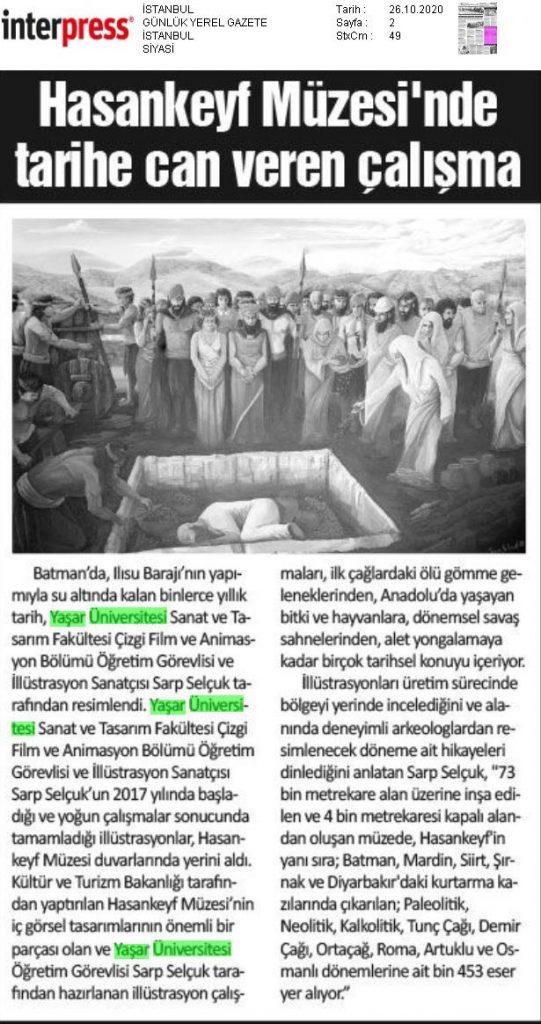 Sarp Selçuk İstanbul